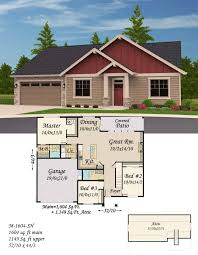 house plans with extra large garages a big extra space is available under the open roof trusses above