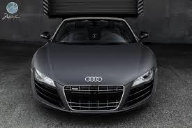 audi r8 matte black modulare wheels matte grey audi r8 v10 spyder 20