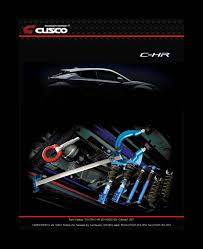 toyota english toyota c hr performance parts line up news english page cusco