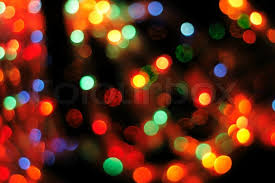 nice xmas background from the christmas lights stock photo