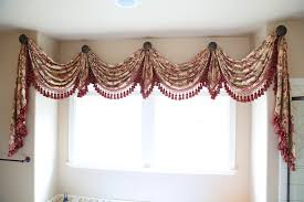 Curtains Valances And Swags Ellis Curtain Stacey 60 Ruffled Swag Valance Reviews Rustic