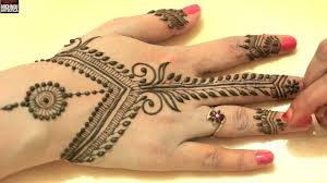 easy simple unique henna mehndi designs trendy