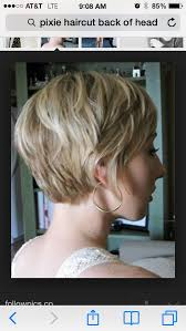 back view of short shag hairstyles pixie haircut rear view pixie cut back view tv actors
