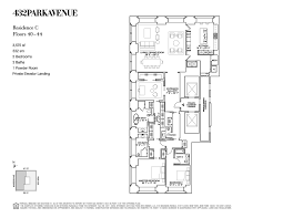 nyc brownstone floor plans 432 park avenue floor plans new york usa layout pinterest