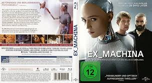 Nathan Ex Machina by Ex Machina Blu Ray Cover 2015 German