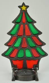 christmas tree candle holders christmas lights decoration