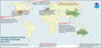The National Map Global Climate Report May 2013 State Of The Climate National