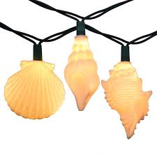 sea shells string lights 10 lights
