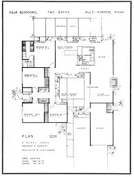 houses layouts floor plans a quincy jones floor plan 1224 eichler pinterest mid