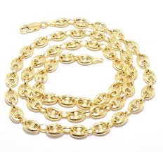 solid yellow gold necklace images 14k gold 12mm anchor link chain 22 quot ejcn35508x jpg