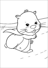 kids fun 40 coloring pages zhu zhu pets
