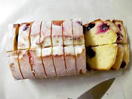 a cozy bee a summer loaf cake recipe lime blueberry yogurt