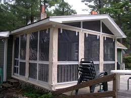 Awning Screen Panels Patio Awning Side Panels Custom Enclosures For Your Deck Porch Or