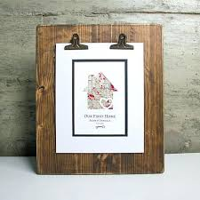 new house gifts personalized housewarming gifts our first home personalized home map