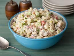 pasta salad with mayo american macaroni salad recipe food network kitchen food network