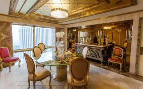 room interior inside donald trump s 100 million penthouse in new york city