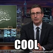 John Oliver Memes - john oliver cool period meme generator