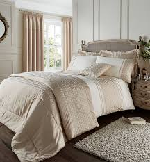Catherine Lansfield Duvet Covers Catherine Lansfield Lille Faux Silk Gold Duvet Set U2013 Louisiana