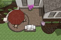 Small Outdoor Patio Ideas Pre Priced Patio Designs Cincinnati Schneider U0027s Landscaping