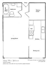 Bunkie Floor Plans by Apartment Awesome Efficiency Apartment Floor Plans Decoration