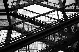 free images light black and white architecture bridge escape