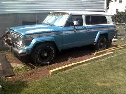 jeep cherokee chief blue necrist 1975 jeep cherokee specs photos modification info at