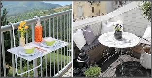 arredamento balconi come arredare un piccolo balcone