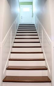 how to add tread and new risers to a staircase stair kit from
