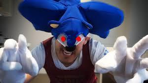 Sonic Hedgehog Halloween Costume Run Pain Sonic Hedgehog