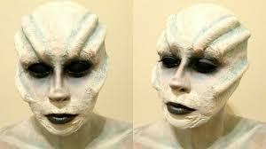 Alien Halloween Makeup by Alien Creature Tutorial 2014 Youtube