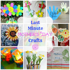 Cute Homemade Mothers Day Gifts by Easy Last Minute Mother U0027s Day Craft Ideas Diy Pinterest