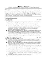 Marketing Director Resume Summary 25 Marketing Manager Resume Samples Vinodomia