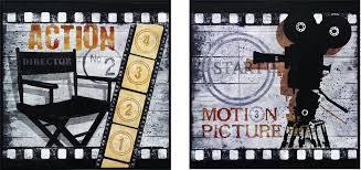 Home Movie Theater Wall Decor Action