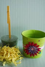 embellished flower pot craft tutorial paper crush