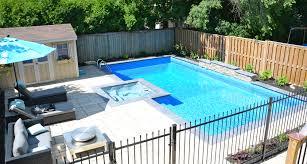 Small Backyard Pool by Triyae Com U003d Pools For Small Backyards Toronto Various Design