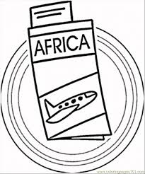 trip africa coloring free africa coloring pages