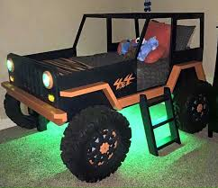 mini jeep wrangler for kids jeep bed uriahs room pinterest jeeps room and bunk bed plans
