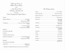 one page wedding program template template wedding program sle template