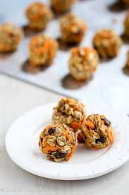 no bake carrot cake granola bites recipe low sugar u0026 gluten free
