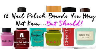 12 nail polish brands you may not know u2026 but should pampadour
