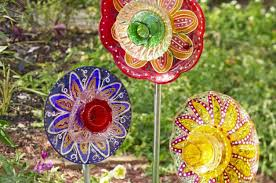 diy glass garden flowers backyard projects birds and blooms