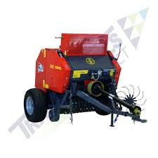tx48 mini round hay baler with twine wrap u0026 central drawbar for
