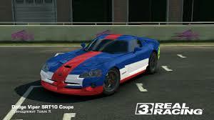 Dodge Viper Race Car - real racing 3 dodge viper srt10 coupe youtube
