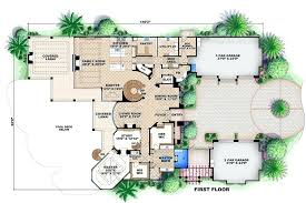 house plans mediterranean mediterranean homes plans style house plan 6 beds baths sq ft plan