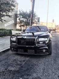 rolls royce wraith mansory rdbla blacked out mansory wraith rdb la five star tires full