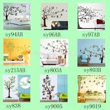 Panda Nursery Decor by 2016 New 3d Wall Stickers Home Decor Cartoon Animals Tree Branch