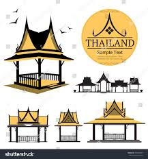 thai design royalty free logo thai design house building thailand 295908047