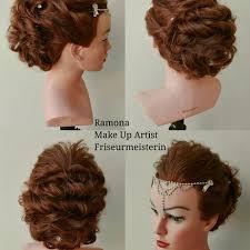 Hochsteckfrisurenen Profi by Friseur Kosmetikmeisterin Master Hairdresser Makeup