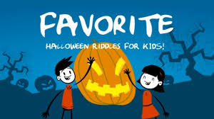 funny halloween riddles for kids youtube