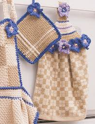 pattern crochet towel holder free pattern crochet kitchen towel topper squareone for